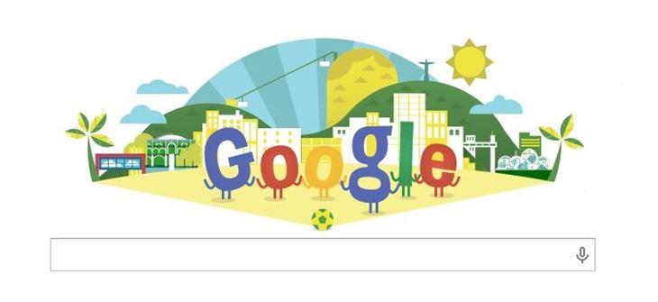 جوجل تحتفل بكاس العالم مع العالم