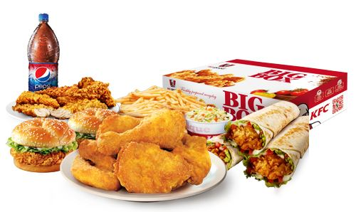 Enjoy all your KFC favourites, delivered straight from our kitchens to your front door.