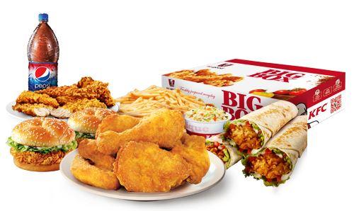 KFC Big Box Family Meal