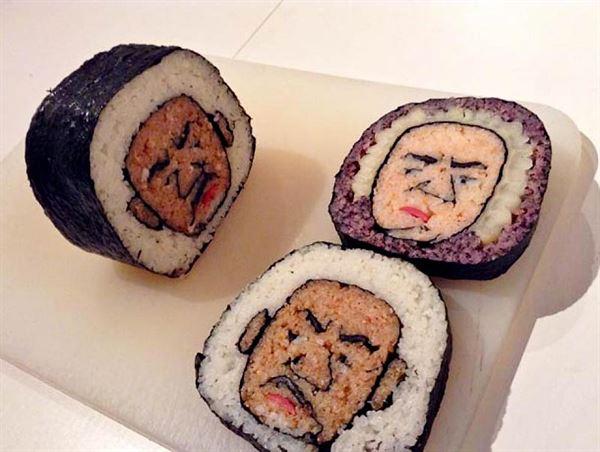 بالصور ... اشكال مميزة من عالم فن السوشي