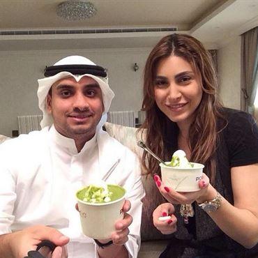 الفنانة اللبنانية يارا في الكويت