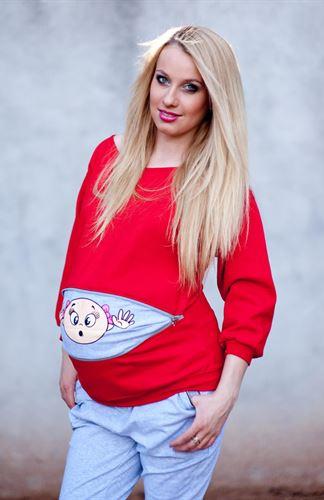 بالصور ... قمصان مميزة ومضحكة للمرأة حامل
