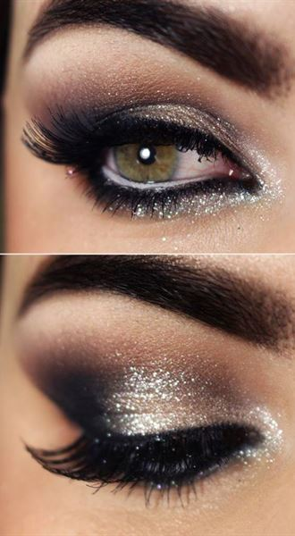 Glamorous Sparkling makeup
