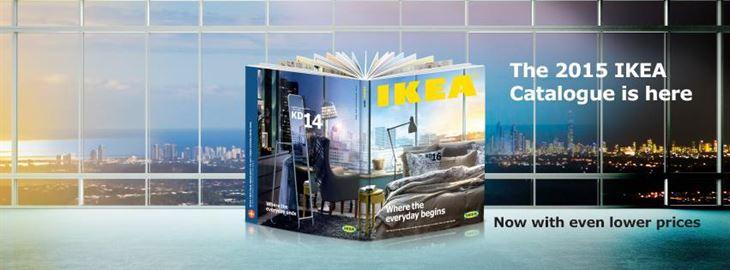 2015 IKEA Catalogue arrived!