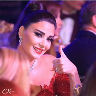 Cyrine Abdelnour's magnificent look in the Murex D'Or