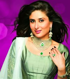 Kareena Kapur in Kuwait for the opening of Malabar's new Showroom