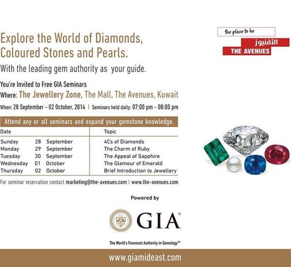 Explore the world of diamonds, colored stones and pearls in The Avenues