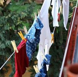 Fines for hanging laundry on balconies