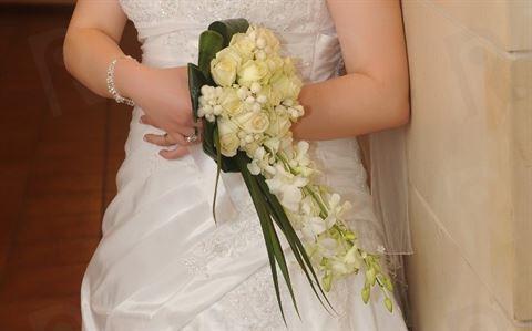 باقة ورد العروس