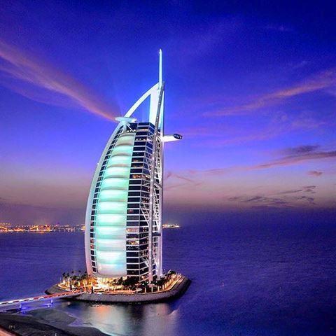 Photo 13127 on date 14 November 2015 - Burj Al Arab Jumeirah Hotel - Dubai, UAE