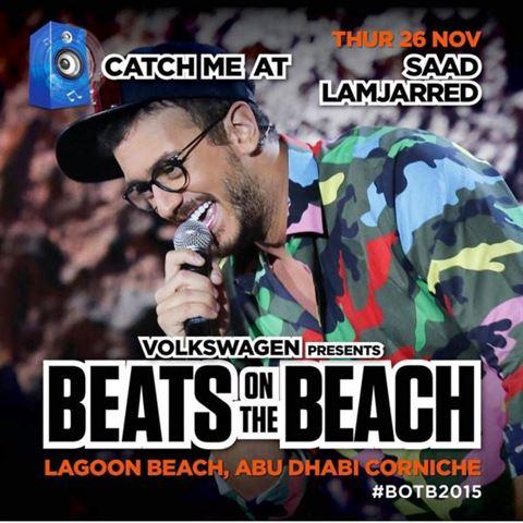 Meet Saad Lmjarred in Abu Dhabi on November 26