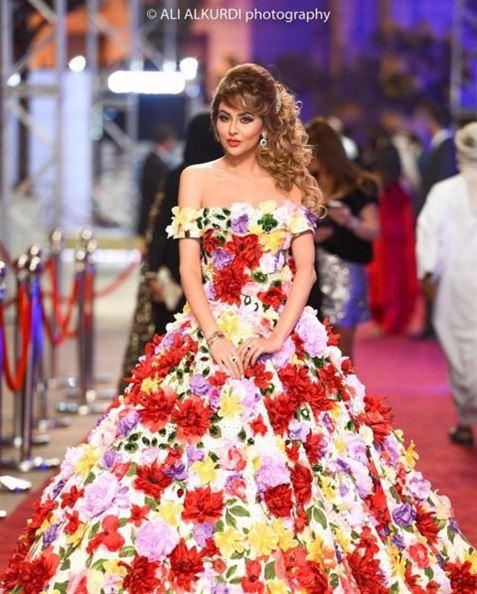 فستان مريم حسين الغريب في مهرجان دبي السينمائي