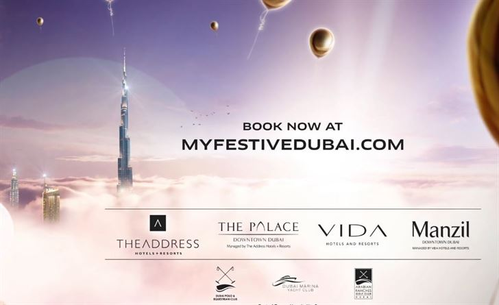 Options in Dubai for Christmas and 2016 New Year's Eve