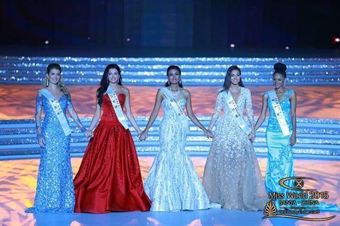 ملكة جمال لبنان فاليري ابو شقرا ضمن الـ Top 5 في مسابقة ملكة جمال العالم
