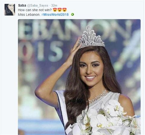 Miss Lebanon Valerie Abou Chacra stunned the World!