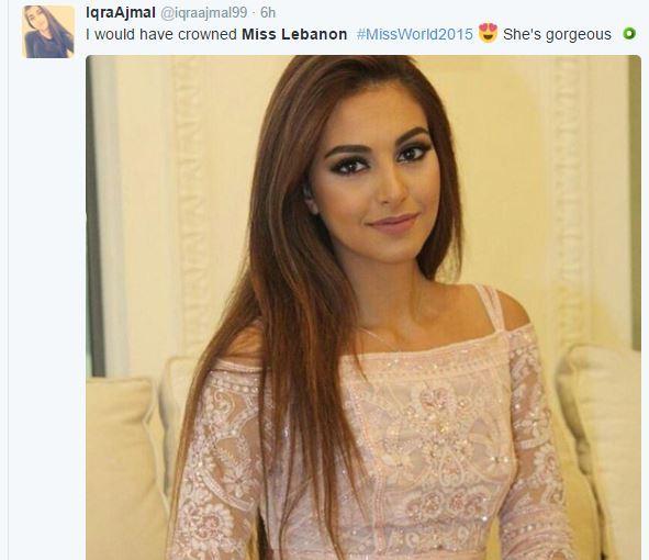Miss Lebanon Valerie Abou Chacra stunned the World!