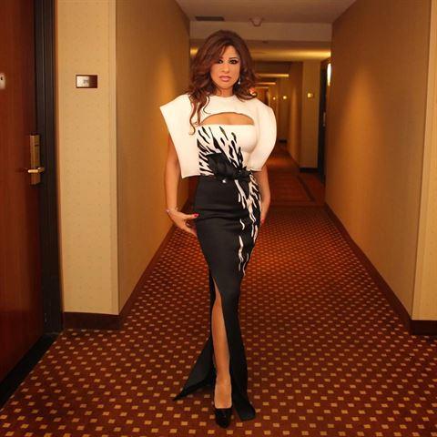 Najwa Karam in Amazing Dresses