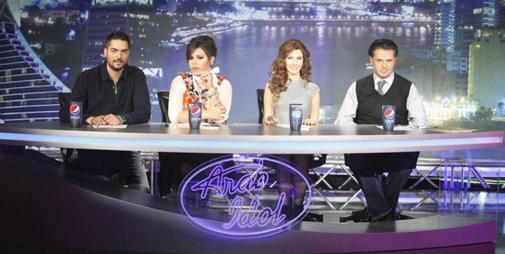 نانسي عجرم في Arab Idol 2