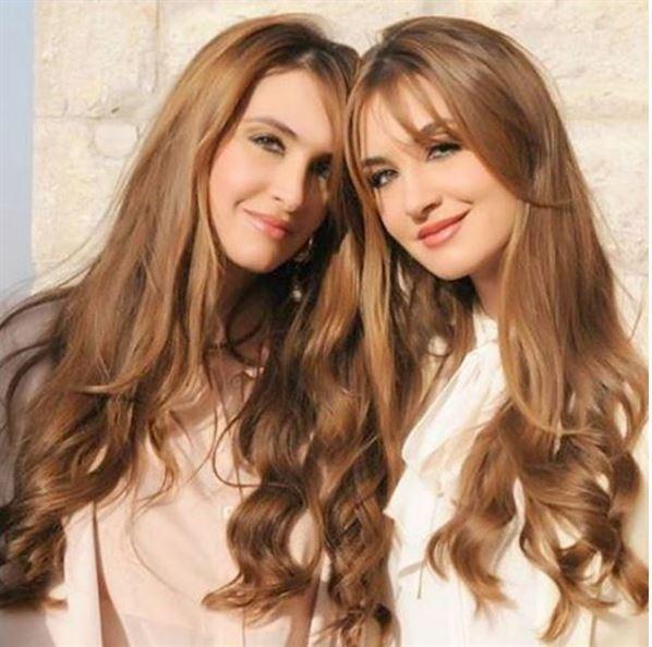 ملكة جمال لبنان السابقة وأختها رينا ورومي شيباني