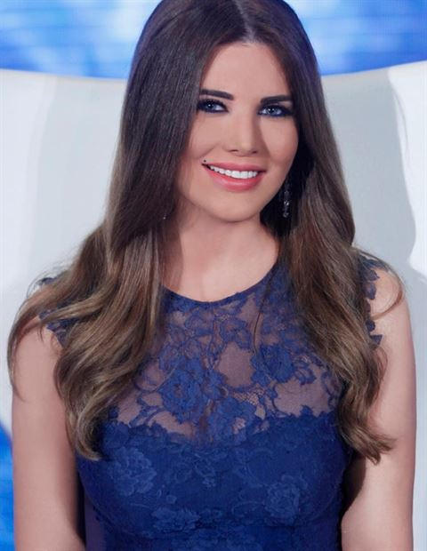 TV Presenter Mona Abou Hamze