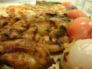 Mixed Grills from Al-Reef Al-Lebnani restaurant