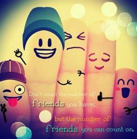 تعلم كيف تفرق بين الصديق الحقيقي والصديق المزيف!