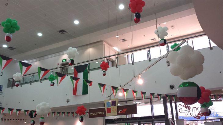 تحضيرات احتفالات عيد التحرير في مركز سلطان حولي