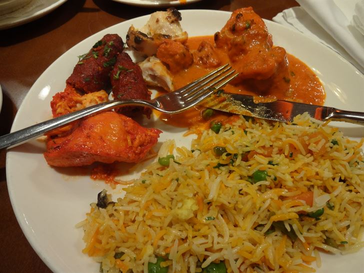 Great Lunch at Asha's - Spoons Complex branch
