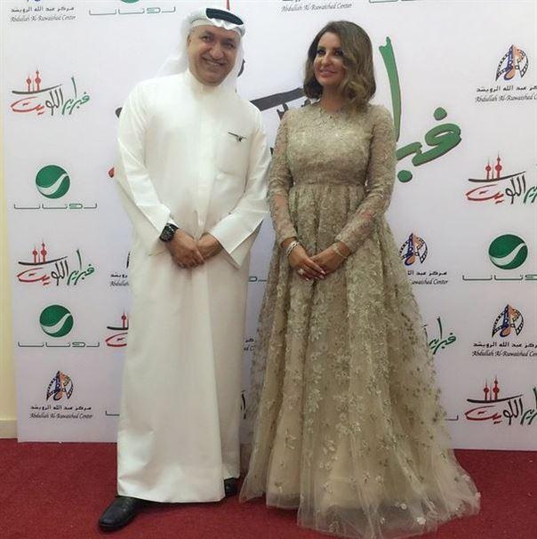 اطلالة الفنانة شذى حسون في مهرجان هلا فبراير الكويت