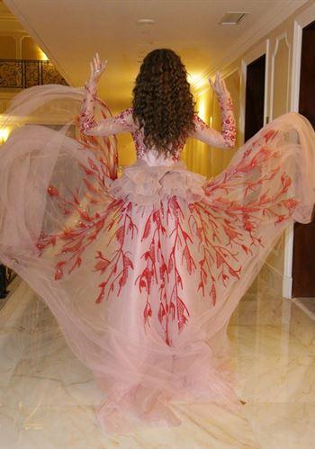 صور من زيارة النجمة اللبنانية ميريام فارس الى الكويت