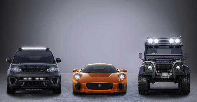 """سيارات """"جاغوار"""" و""""لاند روفر"""" في فيلم جيمس بوند الجديد """"SPECTRE"""""""