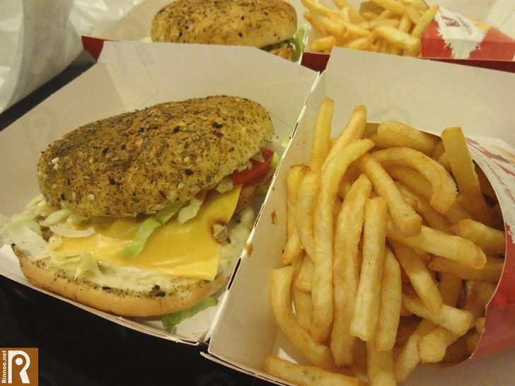 See what Kentucky's Fillet Gourmet sandwich looks like