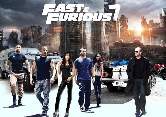 Don't miss Fast and Furious 7 in Cinescape