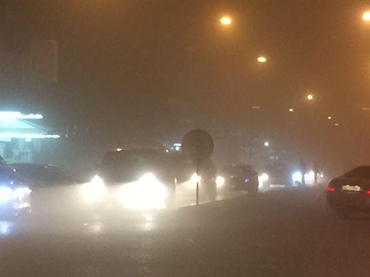 عاصفة رملية قوية تضرب الكويت