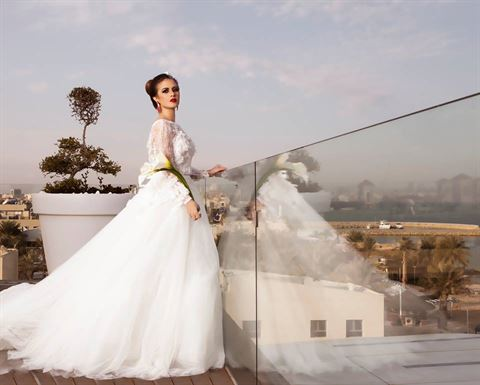 Photo 10519 on date 13 April 2015 - Pronovias - Salmiya (Olympia Mall) Branch - Kuwait