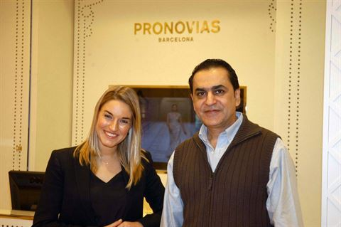 Photo 10520 on date 13 April 2015 - Pronovias - Salmiya (Olympia Mall) Branch - Kuwait
