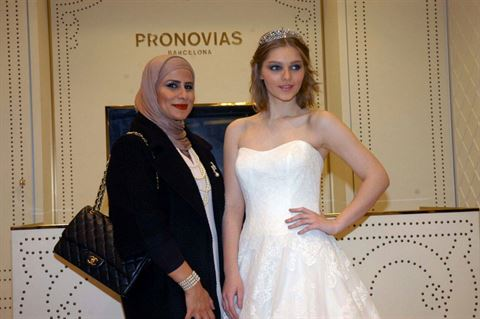 Photo 10521 on date 13 April 2015 - Pronovias - Salmiya (Olympia Mall) Branch - Kuwait