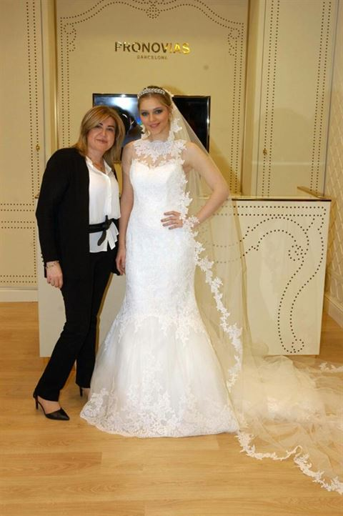 Photo 10524 on date 13 April 2015 - Pronovias - Salmiya (Olympia Mall) Branch - Kuwait