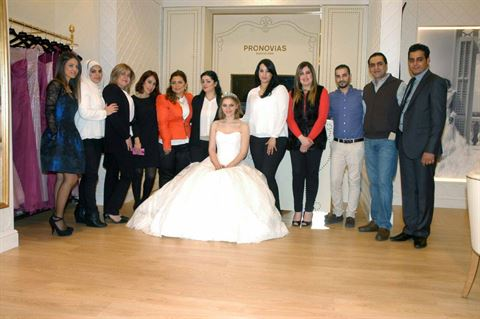 Photo 10525 on date 13 April 2015 - Pronovias - Salmiya (Olympia Mall) Branch - Kuwait