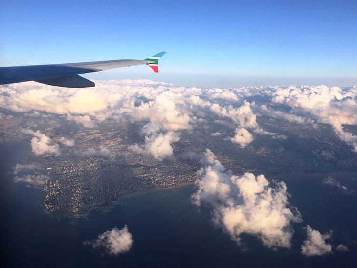 سفرتنا على متن طيران الشرق الأوسط MEA