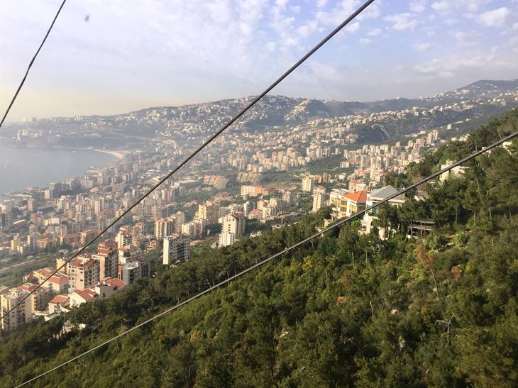 Our Trip by Teleferique to Harissa - Lebanon