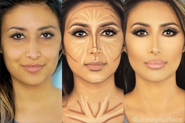 before and after photos of face contouring rinnoo net website