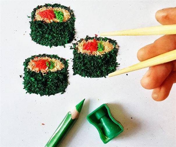 قطع سوشي
