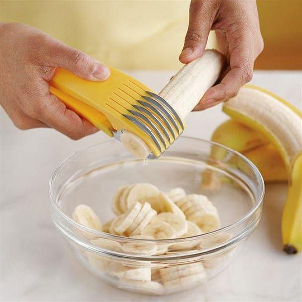 أداة لتقطيع الموز الى دوائر