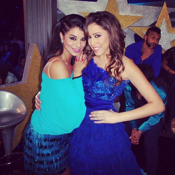 ملكة جمال الولايات المتحدة ريما فقيه وملكة جمال مصر امينة اشرف