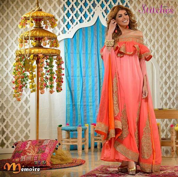 قفطانات رمضانية مميزة من تصميم لولوة العسلاوي