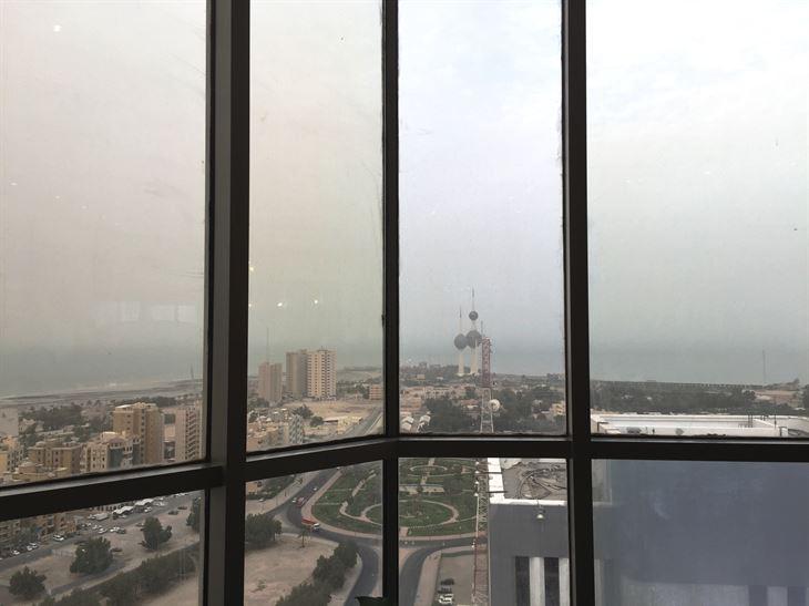 اطلالة على أبراج الكويت