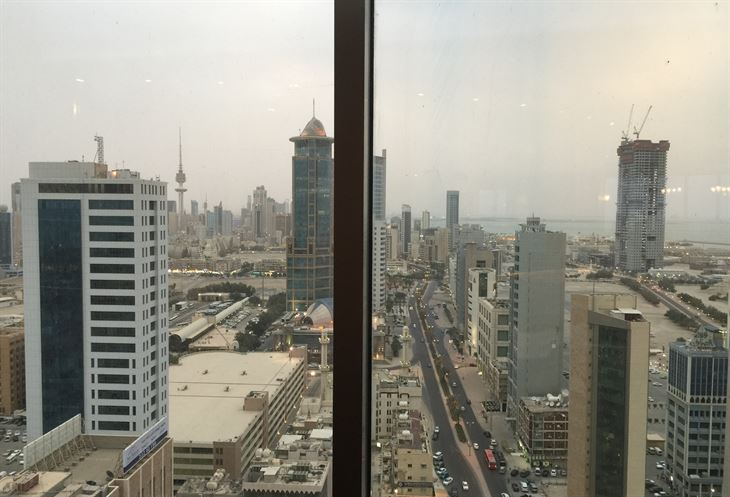 اطلالة على مدينة الكويت