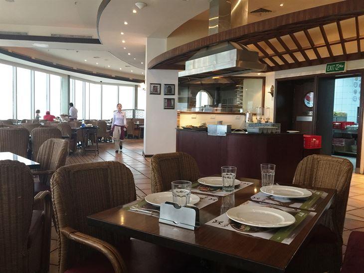 Inside Al Balad restaurant