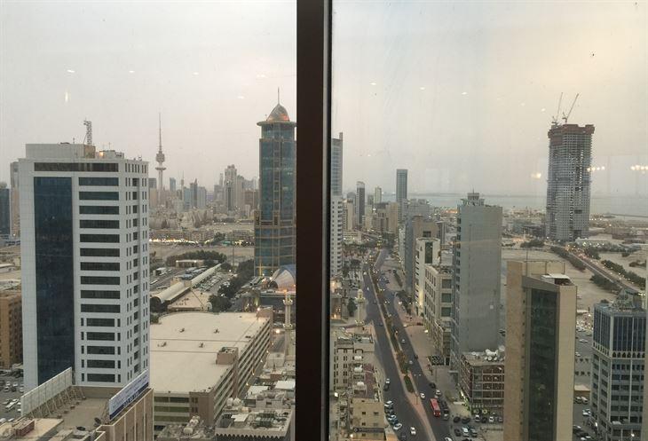 View of Kuwait city